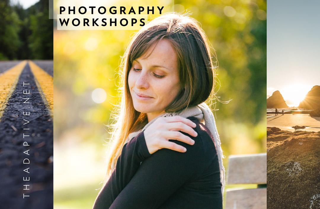 Photography Workshops (Model: Meg Howard)