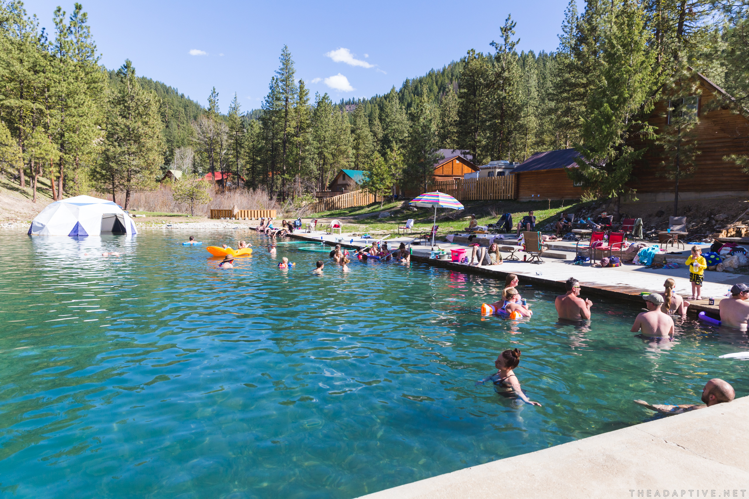 New Gallery: EmbryOasis III at Trinity Hot Springs (Featherville, Idaho)