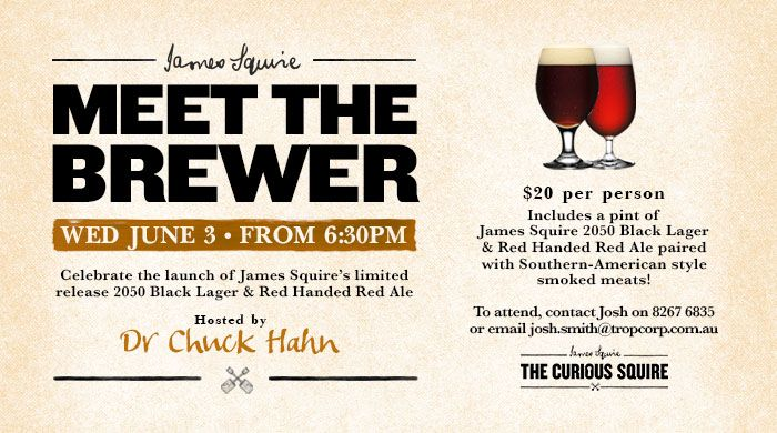 Meet The Brewer The Curious Squire