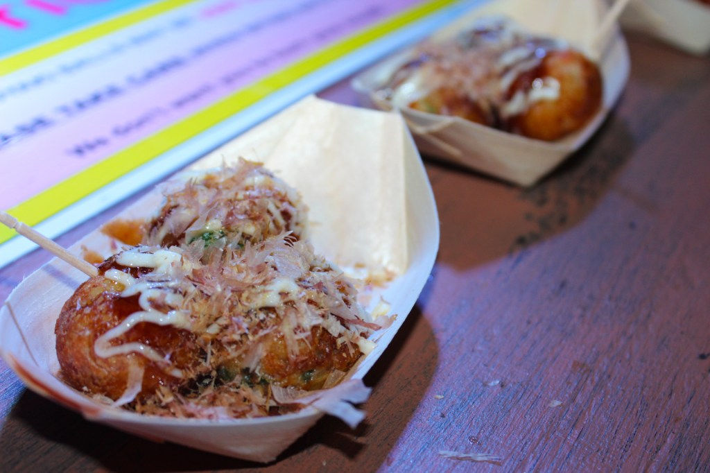 Takoyaki Cooked Fresh By Masaaki Higashioka