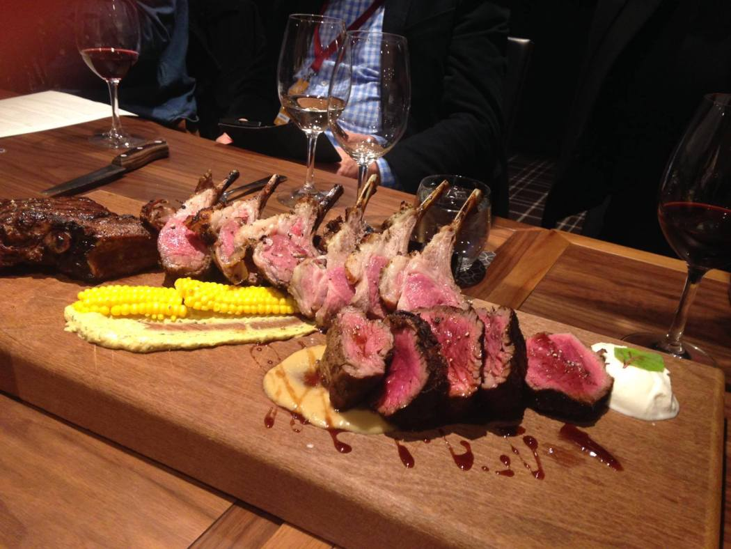 Clare Valley Gold beef fillet and Lamb Cutlets