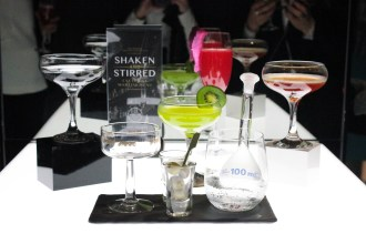 The five cocktails unveiled for this winter's Shaken and Stirred martini collection