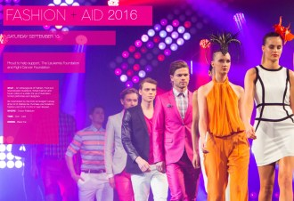 Fashion+Aid will be held on September the 10 at Crown Palladium