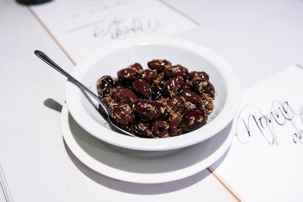 Magical marinated olives