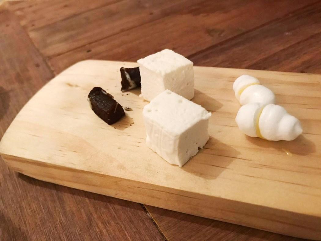 Meringue, Burnt Caramel and Marshmallow