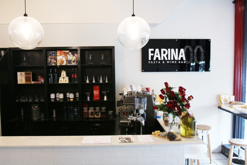 Farina 00 Pasta and Wine is located at 128 King William Road, Goodwood.