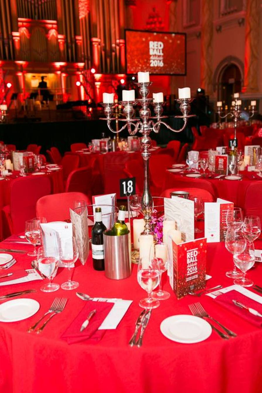 Last year's lush set-up at Red Ball Adelaide.