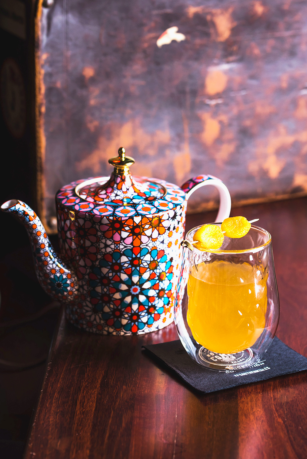 'Southern Comfort Hot Toddy' by Gregory Perrot