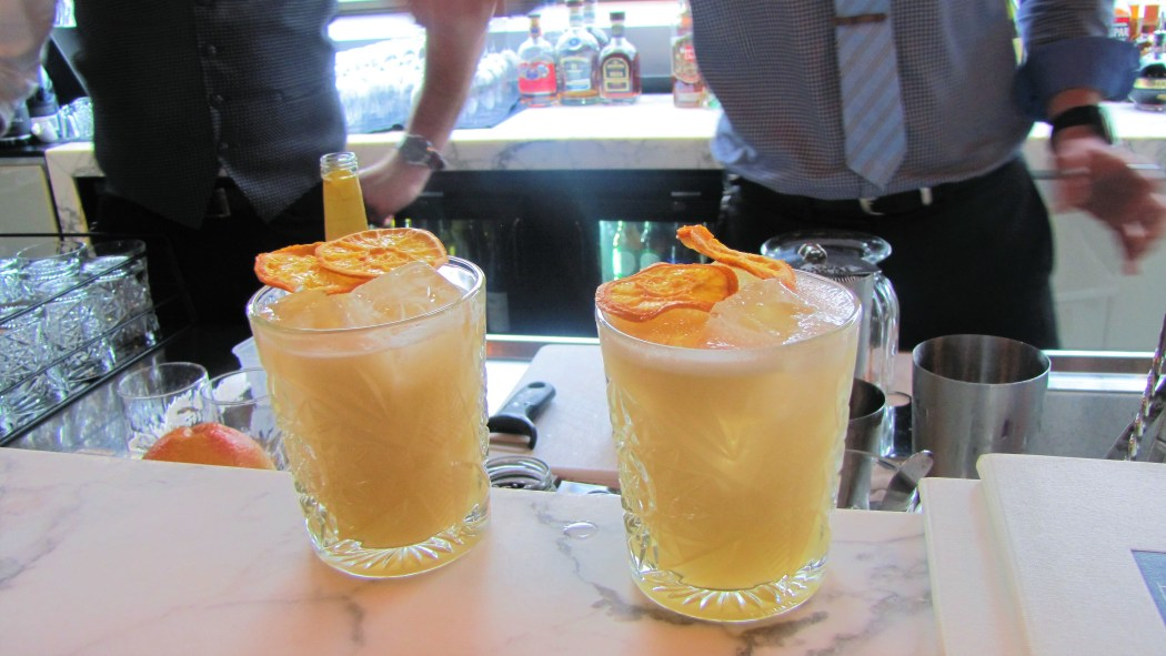 The Honey Trap combines Belvedere Vodka with ginger and honey shrub, drizzled with natural honey.