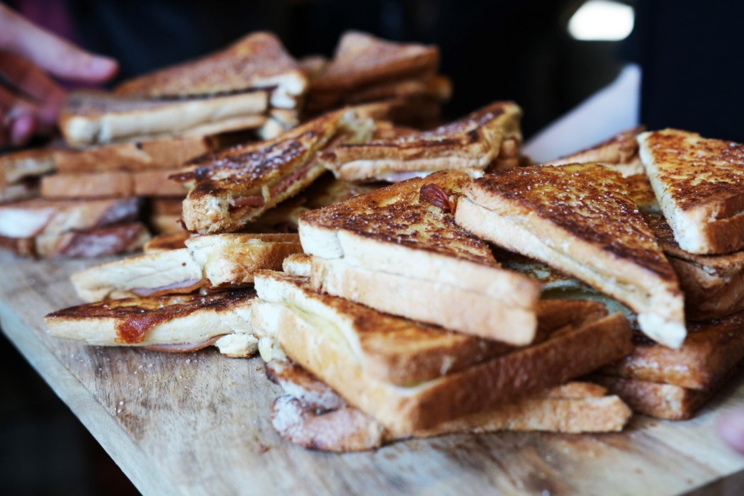 Can't say no to a toastie or five.