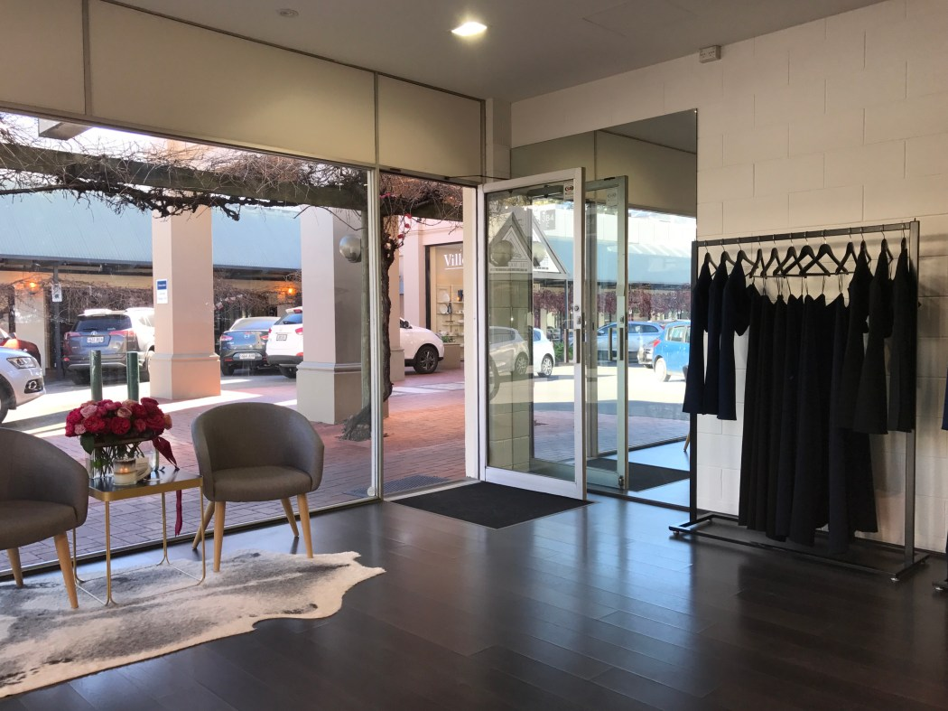 It's currently easier than ever to invest in one of Stephanie Chehade's luxury pieces, as she's currently in her second pop-up shop, located at Burnside Village.