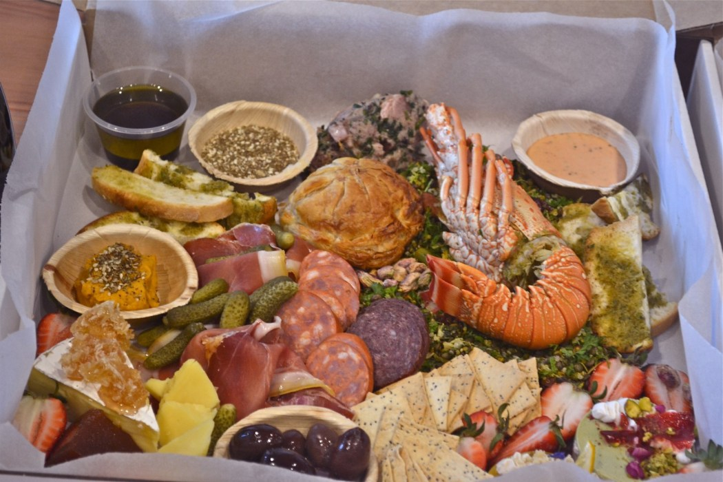 This $90 hamper includes everything from Pacific Lobster to Duck Pithivier!