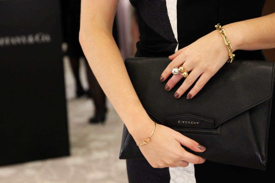 Givenchy 'Antigona' Clutch, Tiffany & Co Jewellery