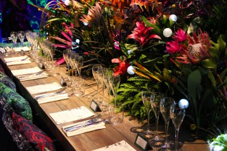 Perrier Jouet Art of the Wild dinner