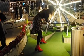 Vlog: Christmas in London Pt 1 at Swingers Golf Club
