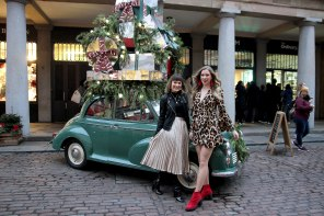 Photo Diary: Our Sister's Wardrobe Christmas Threads Melissa Zahorujko and Kristen Byass