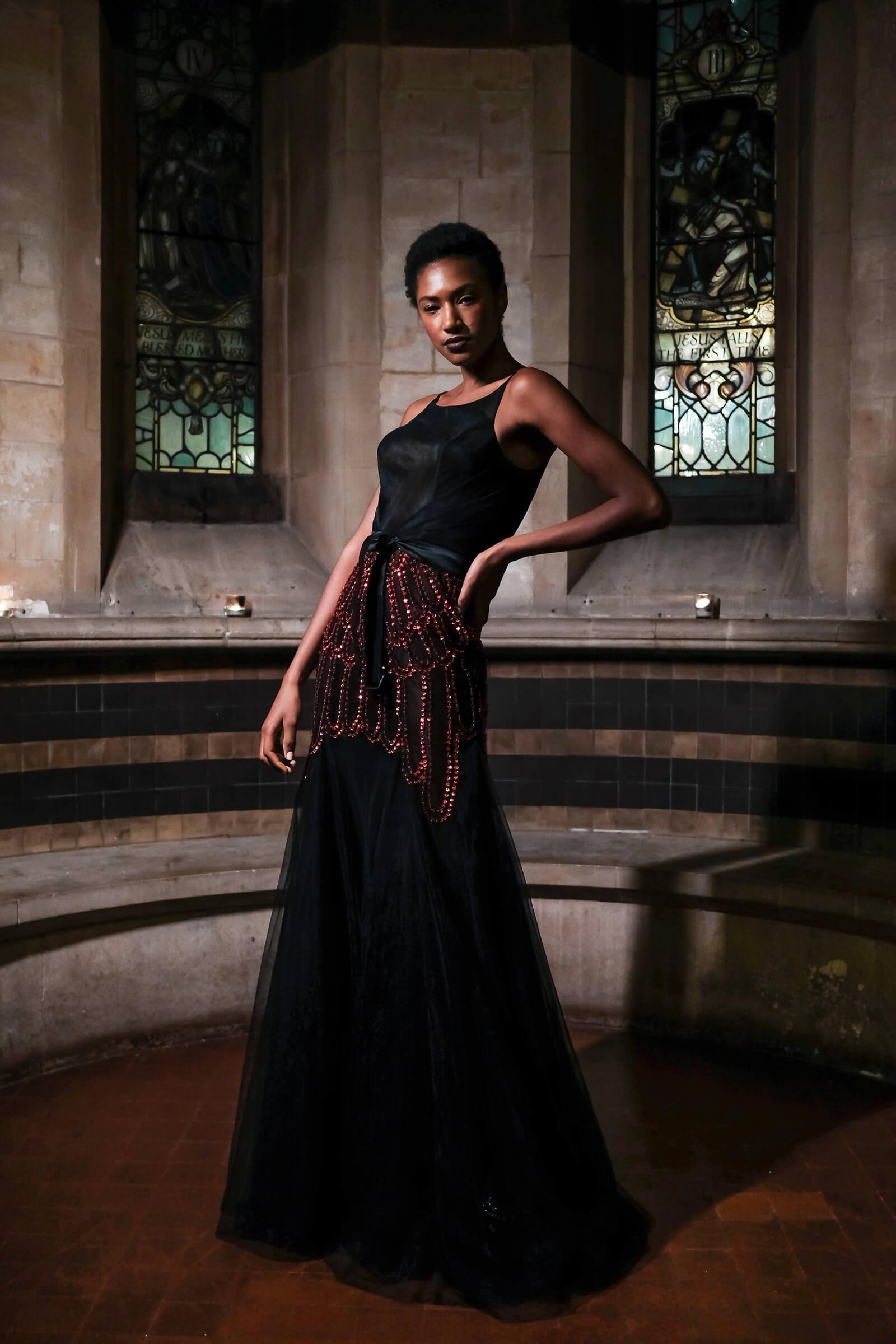 Malan Breton at London Fashion Week AW19