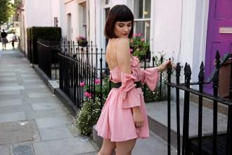 Femme Luxe Finery Pink Dress