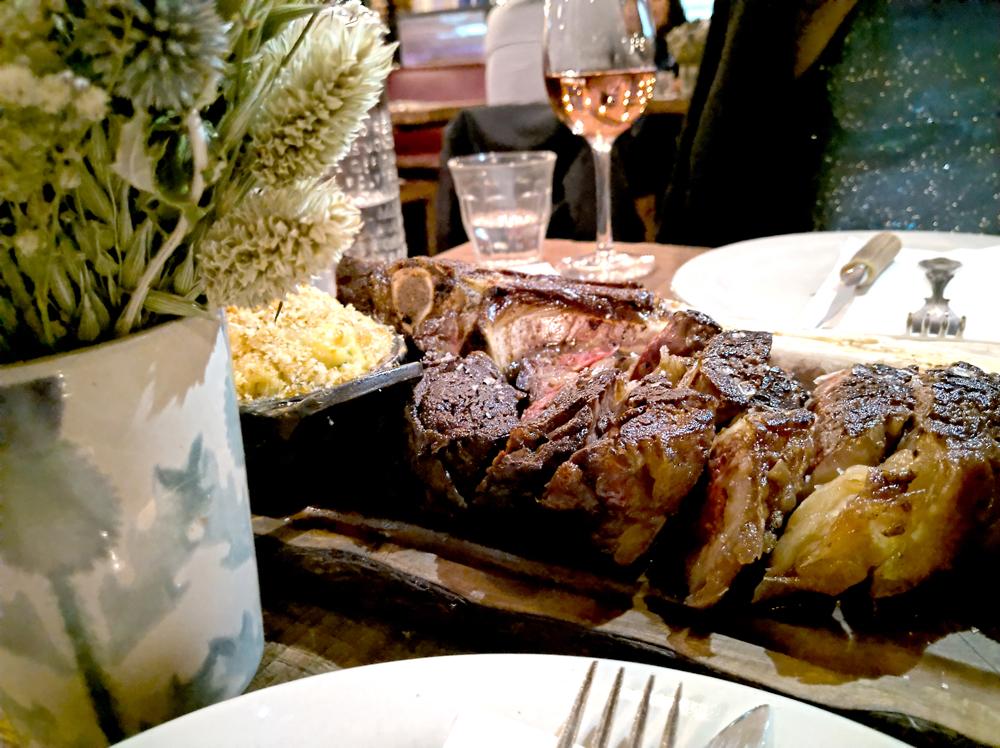 Steak at Mac and Wild Devonshire Square