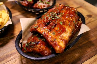 BBQ Pork Ribs at The Joint London
