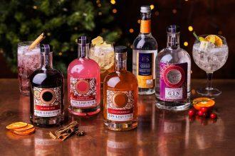 asda festive gins