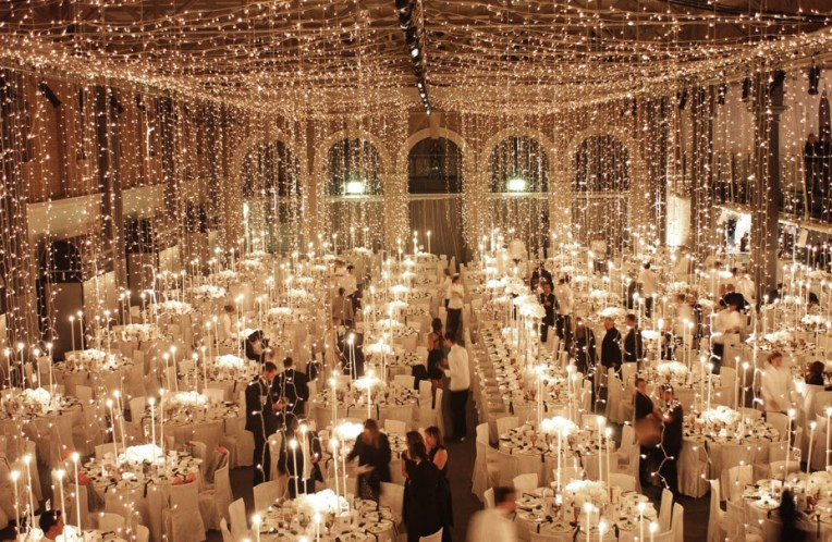 Our party designers turned this beautiful venue into a sparkling delight!