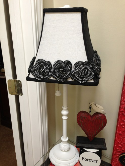February front foyer table lamp from Hobby Lobby