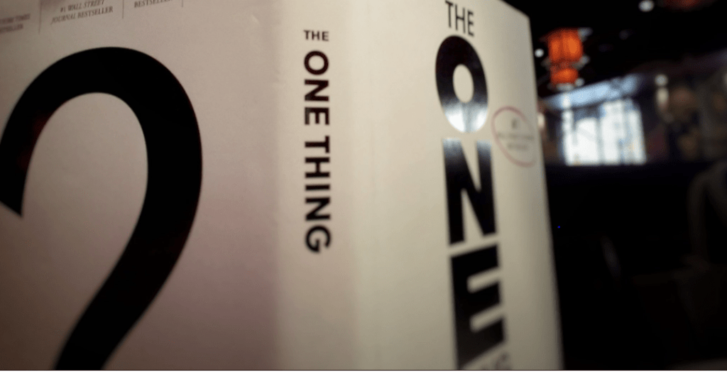 "What's your ONE thing? [ Book Review: ""The ONE Thing"" ]"