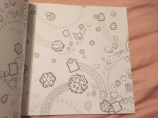 Candy Crush Coloring Pattern