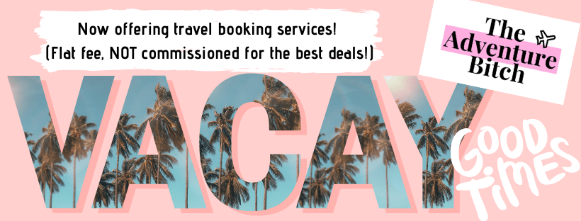 Travel Booking Services offered by The Adventure Bitch
