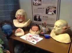 Harry Potter Studio Tour London prosthetics goblins Griphook image
