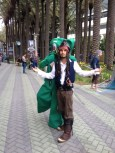 Wondercon 2014 Anaheim cosplay Jack Sparrow, Gumby