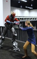 Star Wars Celebration Anaheim 2015 cyborg Darth Maul and brookenado Jedi cosplay
