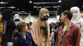 Star Wars Celebration Anaheim 2015 Sandpeople 'he's right behind us, isn't he?'