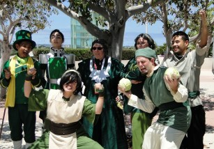 AtLA Earth Kingdom group cosplay