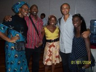 Nigeria + Kenya + Ethiopia + London
