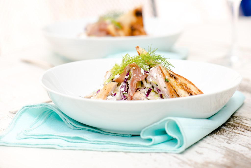 The Adventures of Bob & Shan - Roasted Chicken, Fennel, & Cabbage Chopped Salad