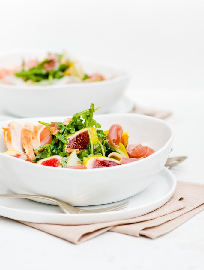 Fig, Prosciutto & Melon Salad