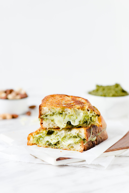 Pesto & Gouda Grilled Cheese