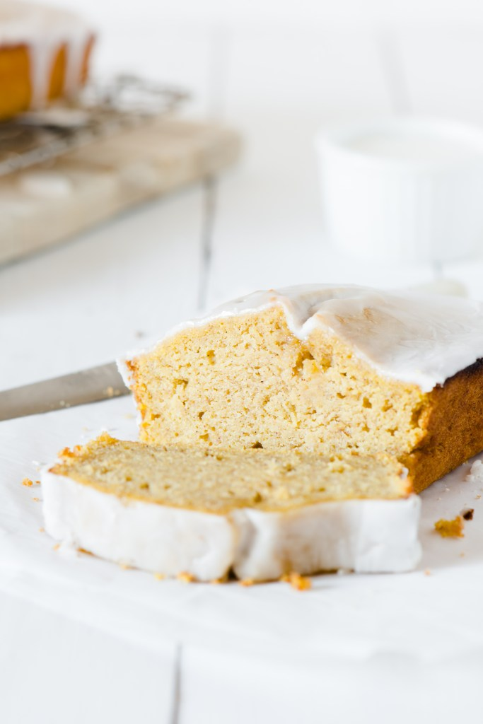Spiced Pumpkin Loaf - Lots of pumpkin flavour, with a hint of ginger.