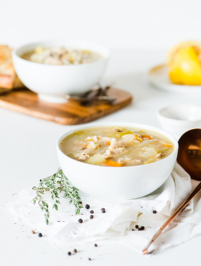 Turkey & Wild Rice Soup