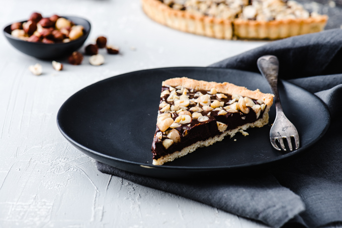 Chocolate Hazelnut Tart - Loved the rich chocolate and flavours of toasted hazelnut.