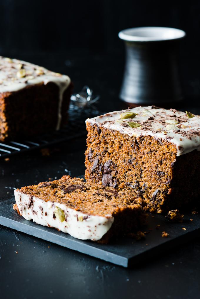 Kabocha, Olive Oil, Bittersweet Chocolate Cake - A uniquely flavoured cake, from the beautiful Gjelina cookbook.