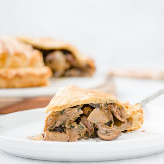 Mushroom Pithivier - Vegetarian comfort food at its most decadent.