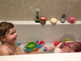 Family bathtime!