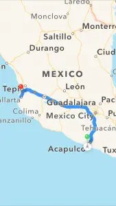 Map of Mexico The Adventure Travelers