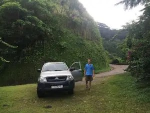 SUV Nuku Hiva The Adventure Travelers