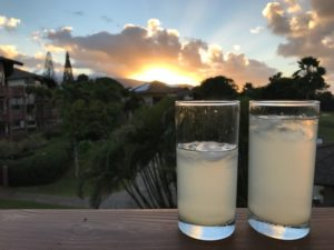 Drinks at Sunset The Adventure Travelers