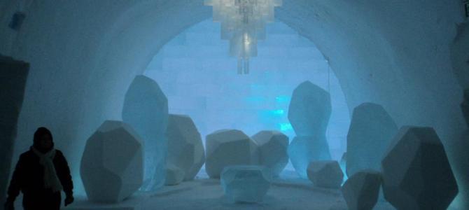 Winter Wonderland- Ice hotel Jukkasjarvi Sweden