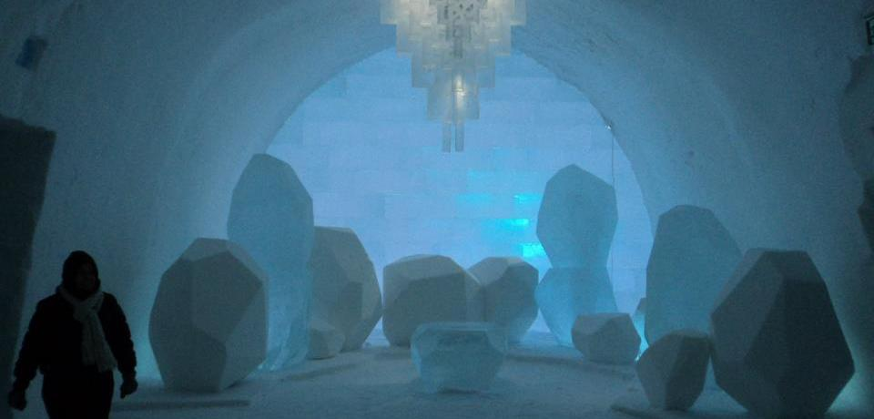Winter Wonderland- Ice hotel Jukkasjarvi Sweden